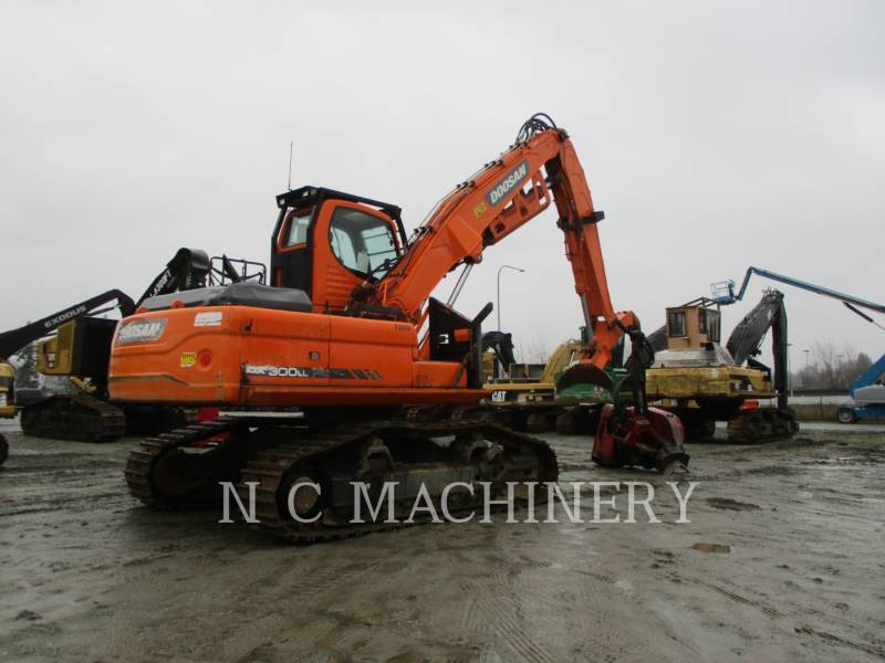 DOOSAN INFRACORE AMERICA CORP. 林業用機械 DX300LL equipment  photo 6