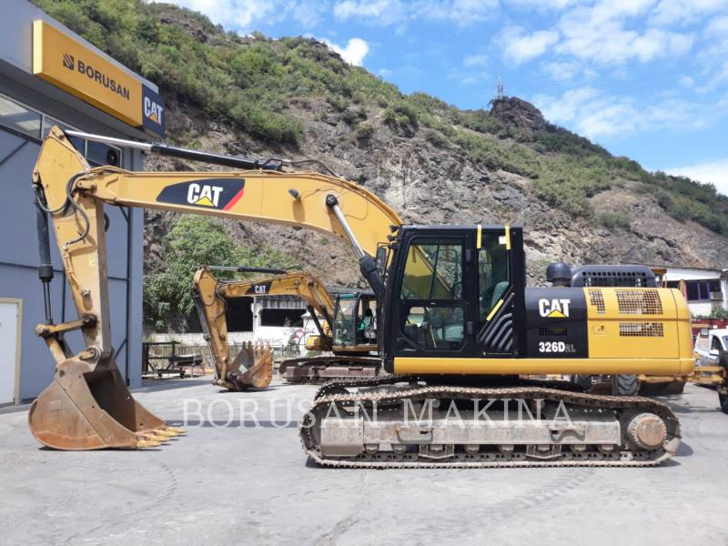 CATERPILLAR KETTEN-HYDRAULIKBAGGER 326D2L equipment  photo 6