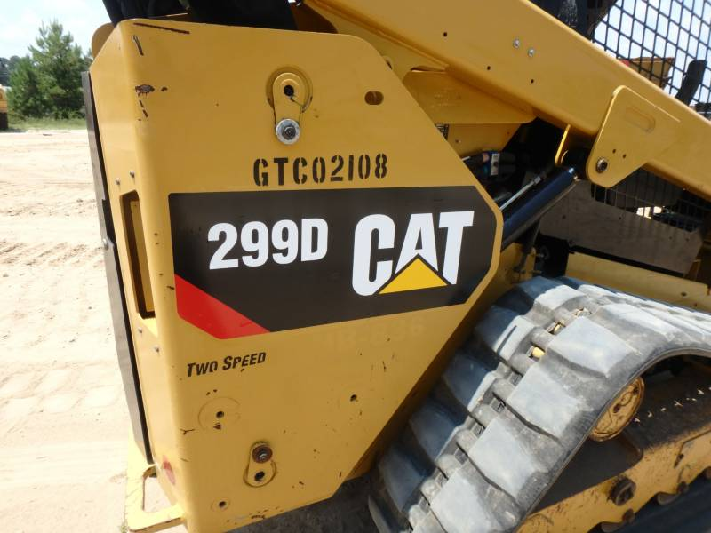 CATERPILLAR PALE CINGOLATE MULTI TERRAIN 299D equipment  photo 21