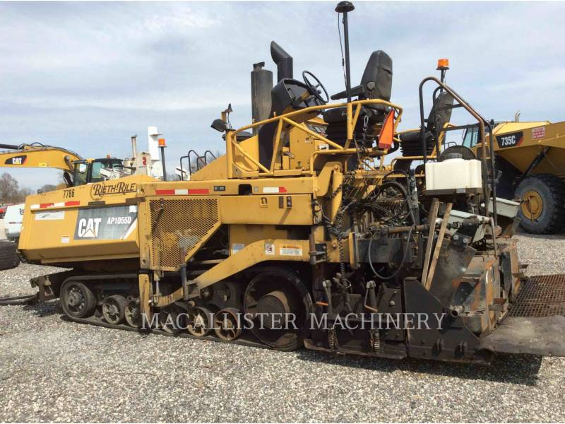 CATERPILLAR PAVIMENTADORA DE ASFALTO AP-1055D equipment  photo 3