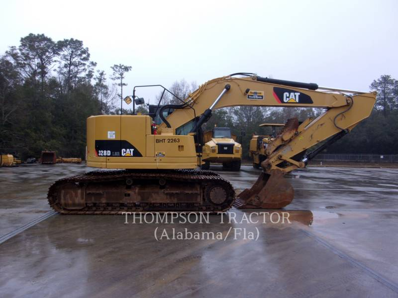 CATERPILLAR TRACK EXCAVATORS 328D CLR equipment  photo 6