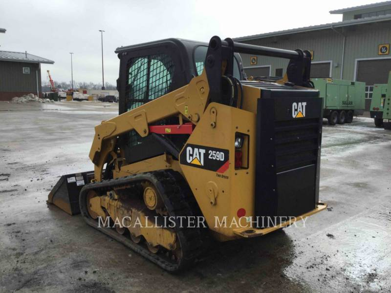 CATERPILLAR CARGADORES MULTITERRENO 259D equipment  photo 3
