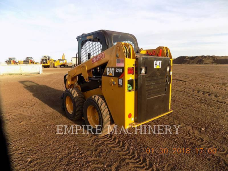 CATERPILLAR CHARGEURS COMPACTS RIGIDES 226D equipment  photo 3