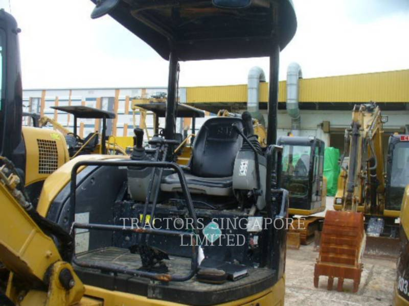 CATERPILLAR KETTEN-HYDRAULIKBAGGER 303.5DCR equipment  photo 13