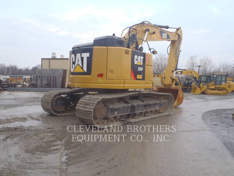 CATERPILLAR KETTEN-HYDRAULIKBAGGER 335FLCR equipment  photo 4