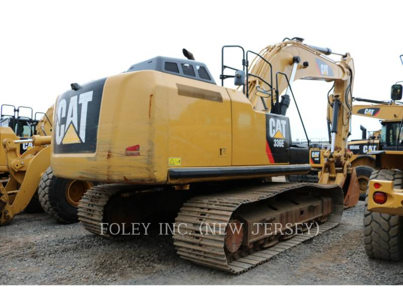 CATERPILLAR TRACK EXCAVATORS 336EL TC equipment  photo 3
