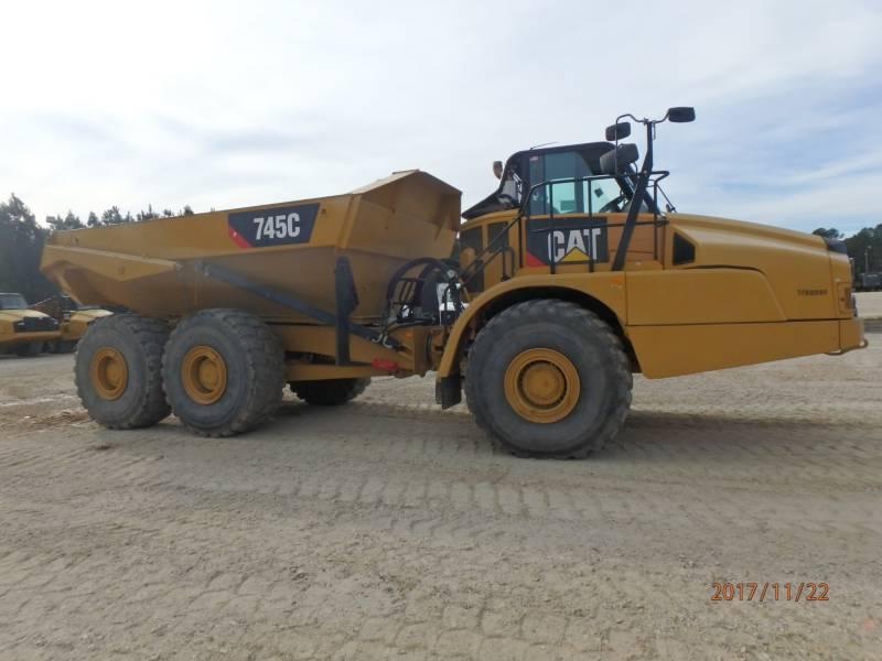 CATERPILLAR アーティキュレートトラック 745C equipment  photo 5