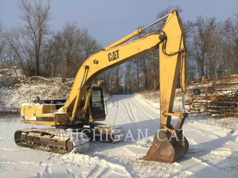CATERPILLAR KETTEN-HYDRAULIKBAGGER E200BL equipment  photo 2