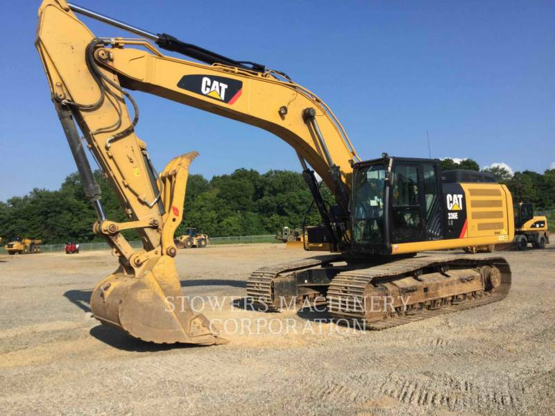 CATERPILLAR EXCAVADORAS DE CADENAS 336E THUMB equipment  photo 1