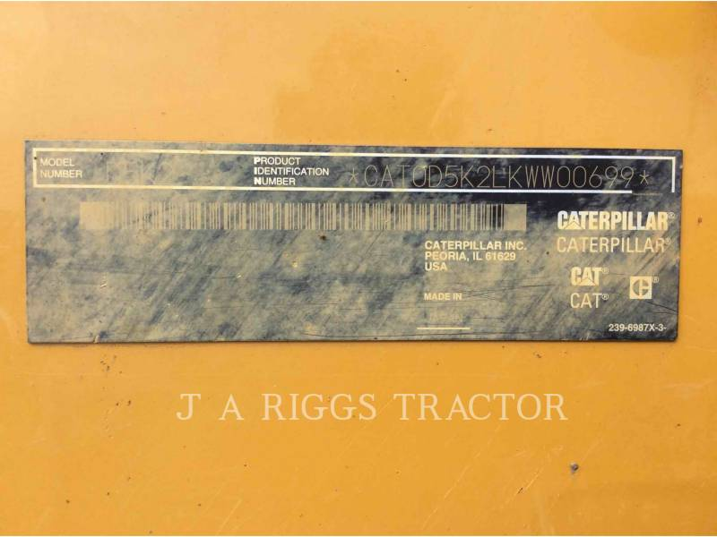 CATERPILLAR TRACK TYPE TRACTORS D5KXL AAG equipment  photo 9