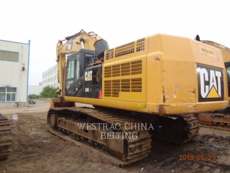 CATERPILLAR TRACK EXCAVATORS 349D2 equipment  photo 17