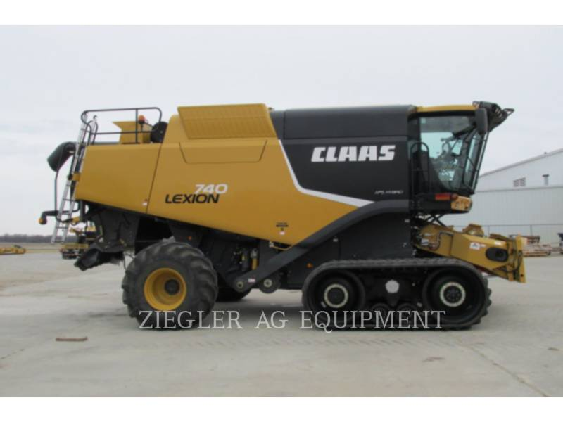 LEXION COMBINE COMBINES 740TT equipment  photo 15