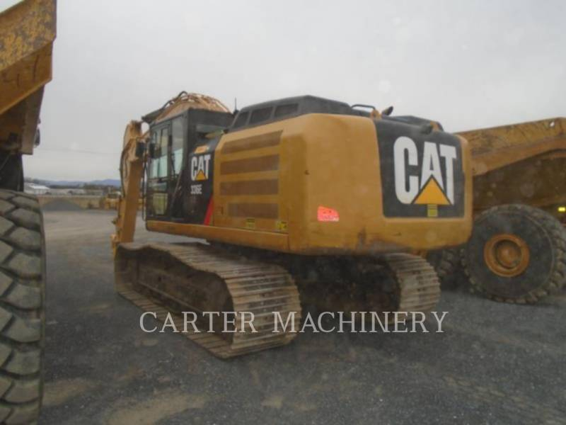 CATERPILLAR TRACK EXCAVATORS 336E 10CFH equipment  photo 5