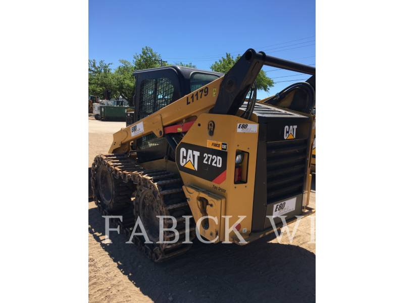 CATERPILLAR CHARGEURS COMPACTS RIGIDES 272D1 equipment  photo 4