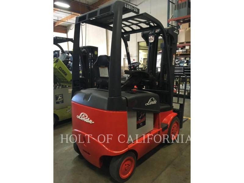 LINDE FORKLIFTS E20C/600 equipment  photo 3