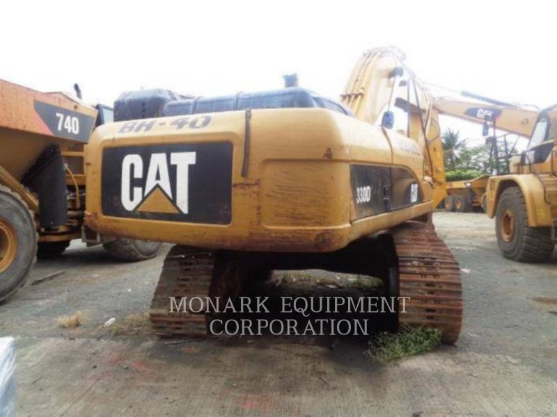 CATERPILLAR TRACK EXCAVATORS 330D equipment  photo 3