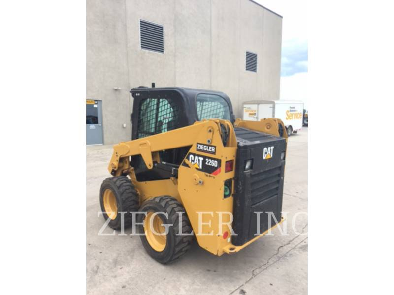 CATERPILLAR MINICARGADORAS 226DS equipment  photo 4