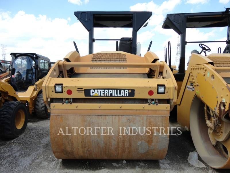 CATERPILLAR TANDEMVIBRATIONSWALZE, ASPHALT CB54 equipment  photo 4