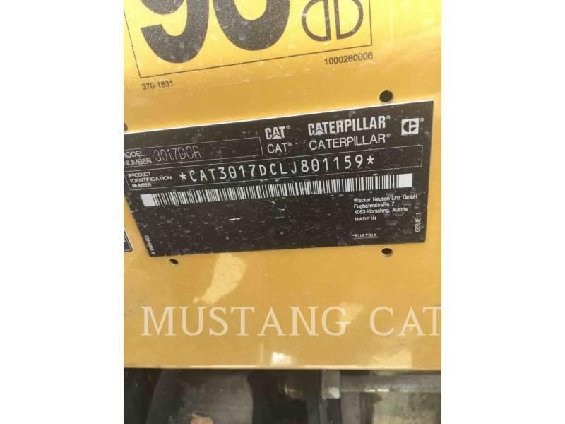 CATERPILLAR ESCAVATORI CINGOLATI 301.7DCR equipment  photo 5