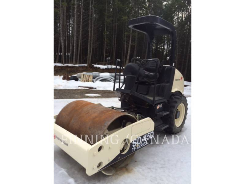 INGERSOLL-RAND EINZELVIBRATIONSWALZE, GLATTBANDAGE SD-45D equipment  photo 1