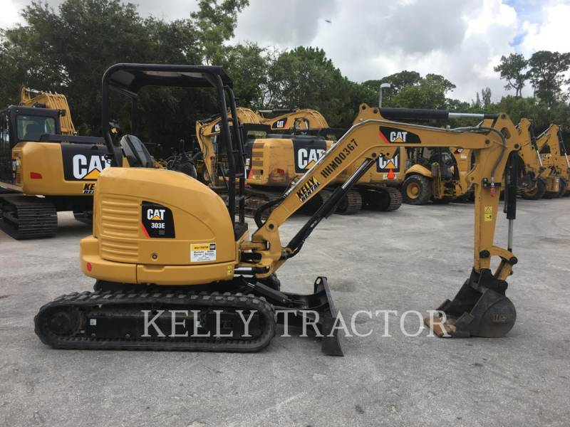 CATERPILLAR TRACK EXCAVATORS 303ECR equipment  photo 6