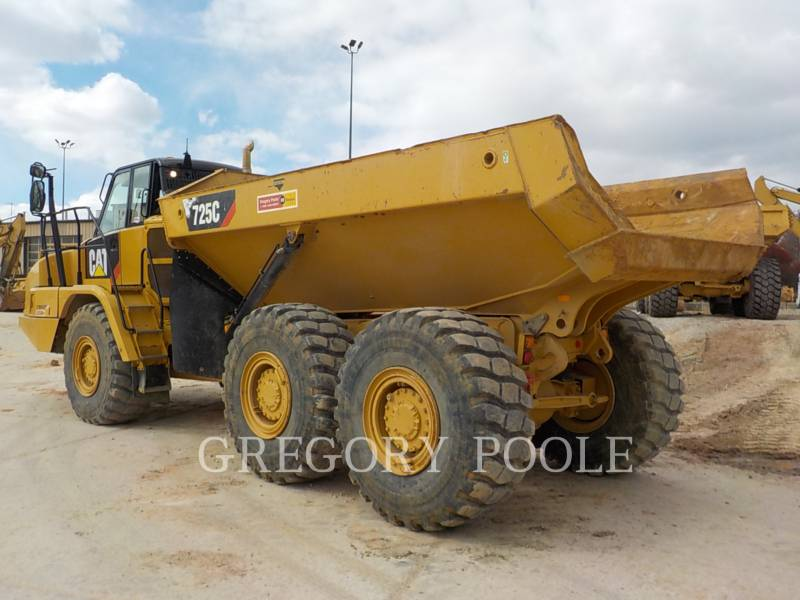 CATERPILLAR DUMPER ARTICOLATI 725C equipment  photo 7