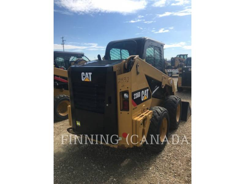 CATERPILLAR SKID STEER LOADERS 236D equipment  photo 4