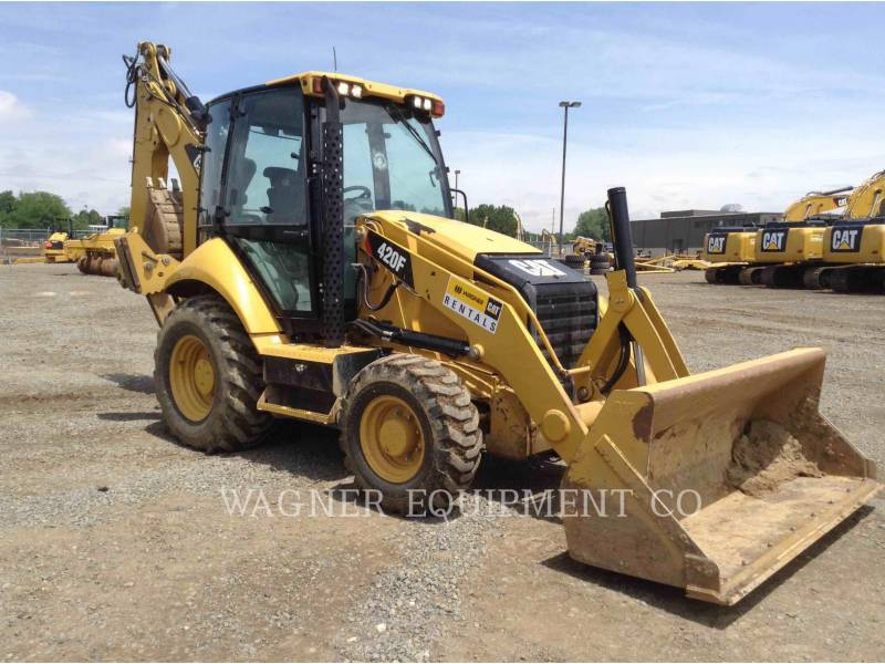 CATERPILLAR CHARGEUSES-PELLETEUSES 420F 4WDE equipment  photo 2