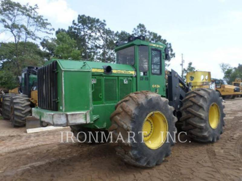 JOHN DEERE FORSTWIRTSCHAFT - BAUMFÄLLBÜNDELMASCHINE 643K equipment  photo 4