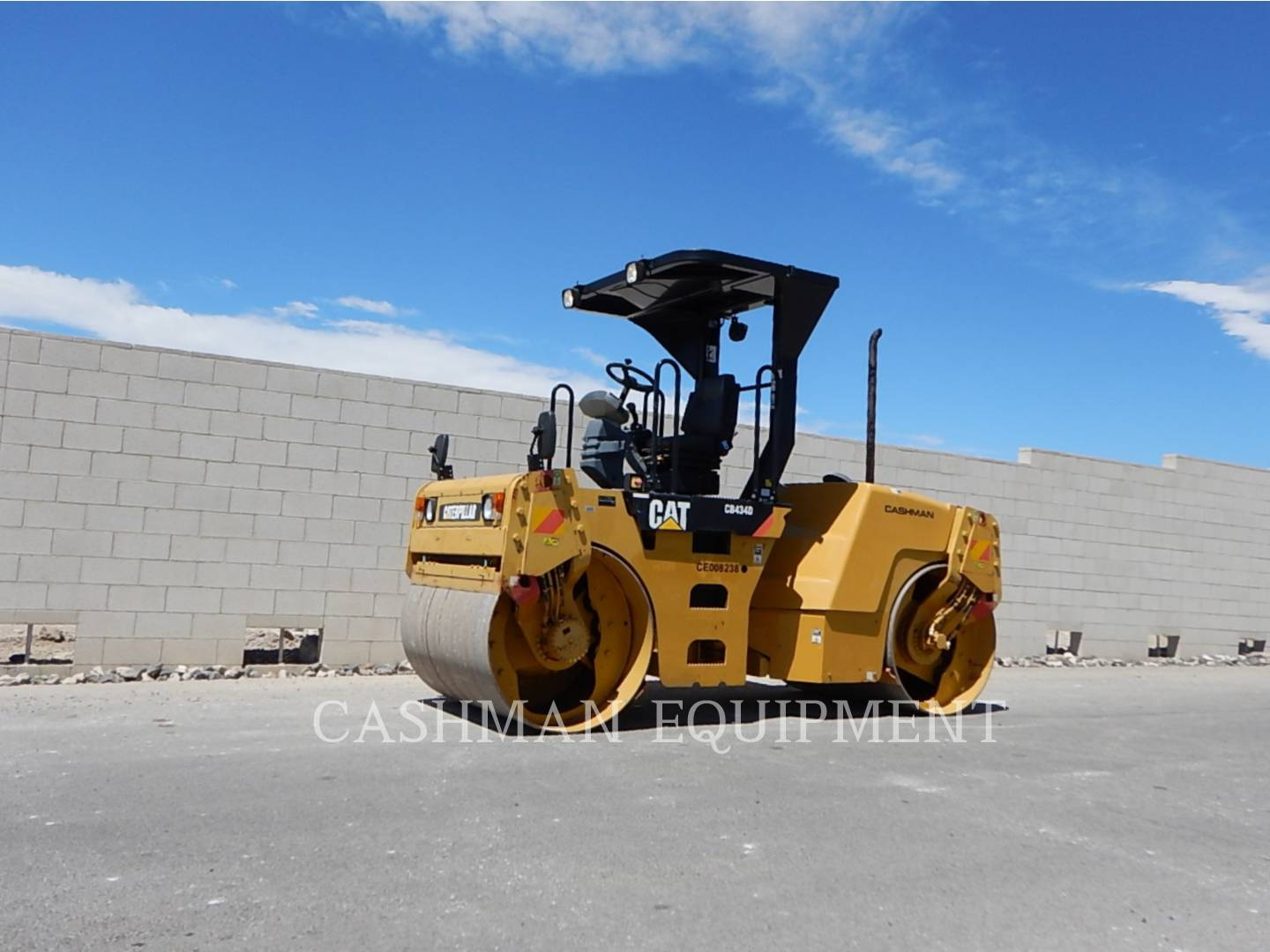 Detail photo of 2008 Caterpillar CB434D from Construction Equipment Guide