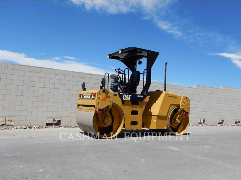 CATERPILLAR COMPACTEURS TANDEMS VIBRANTS CB-434D equipment  photo 1