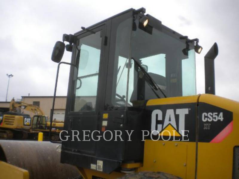 CATERPILLAR EINZELVIBRATIONSWALZE, GLATTBANDAGE CS54 equipment  photo 8