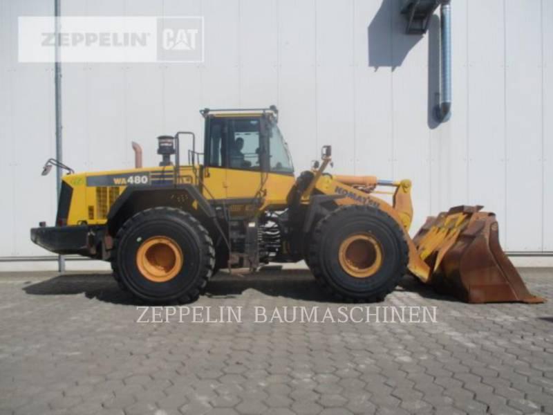KOMATSU LTD. CARGADORES DE RUEDAS WA480LC-6 equipment  photo 6
