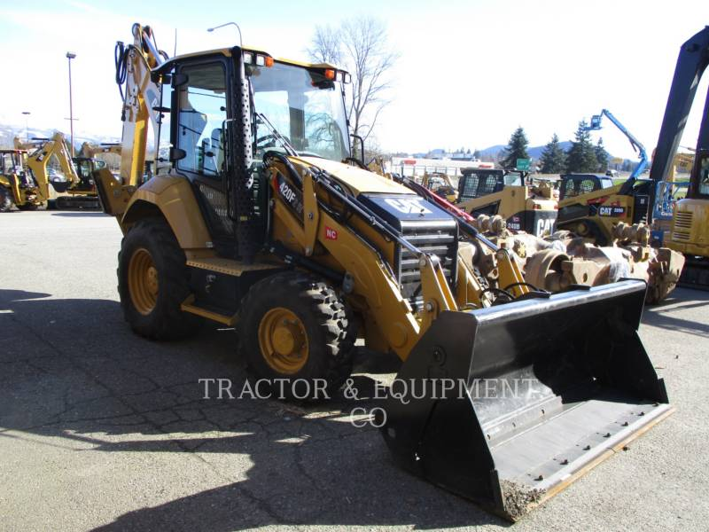 CATERPILLAR CHARGEUSES-PELLETEUSES 420F24ETCB equipment  photo 2