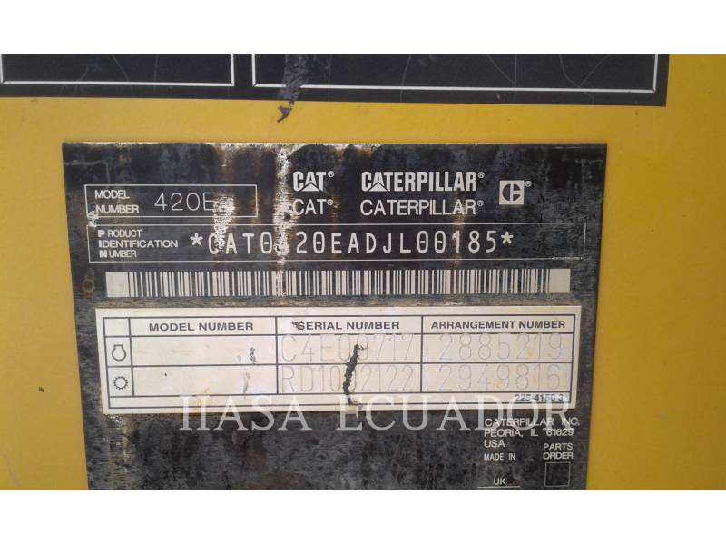 CATERPILLAR RETROEXCAVADORAS CARGADORAS 420EST equipment  photo 5