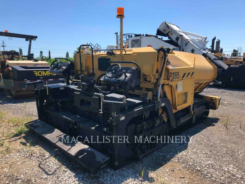 WEILER ASPHALT PAVERS P385 equipment  photo 5