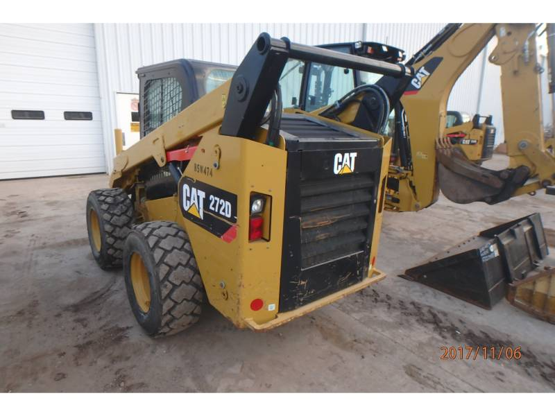 CATERPILLAR SKID STEER LOADERS 272D equipment  photo 3