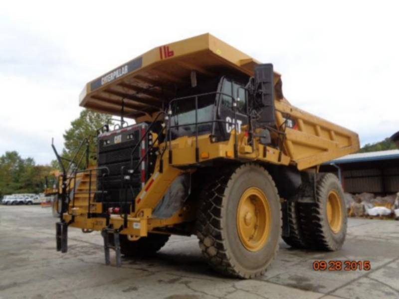 Caterpillar CAMIOANE PENTRU TEREN DIFICIL 777G equipment  photo 1