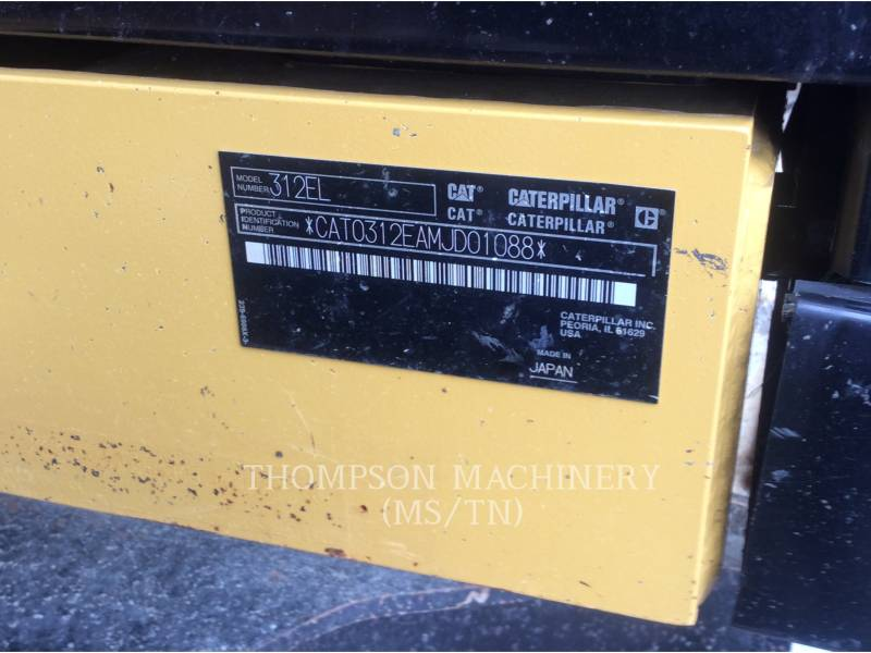 CATERPILLAR PELLES SUR CHAINES 312E equipment  photo 5
