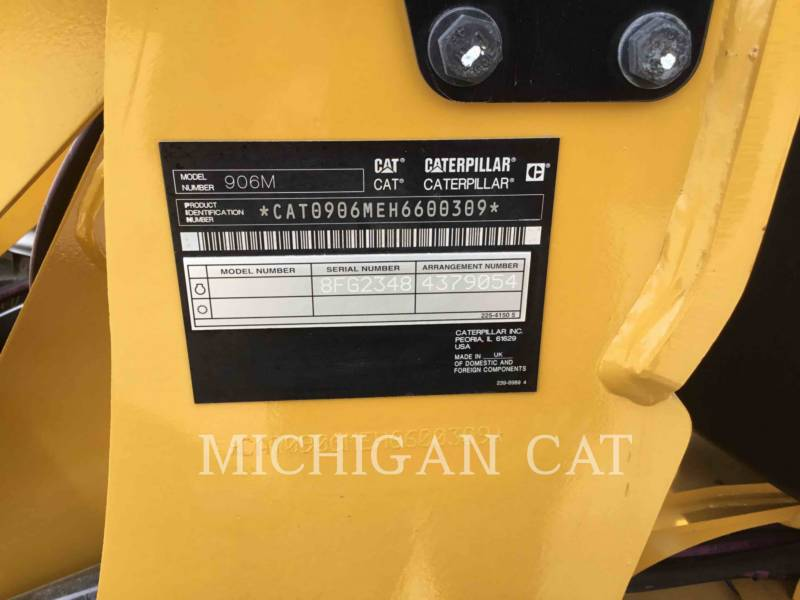 CATERPILLAR RADLADER/INDUSTRIE-RADLADER 906M A equipment  photo 19