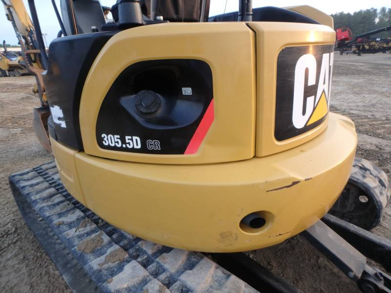 CATERPILLAR TRACK EXCAVATORS 305.5DCR equipment  photo 24