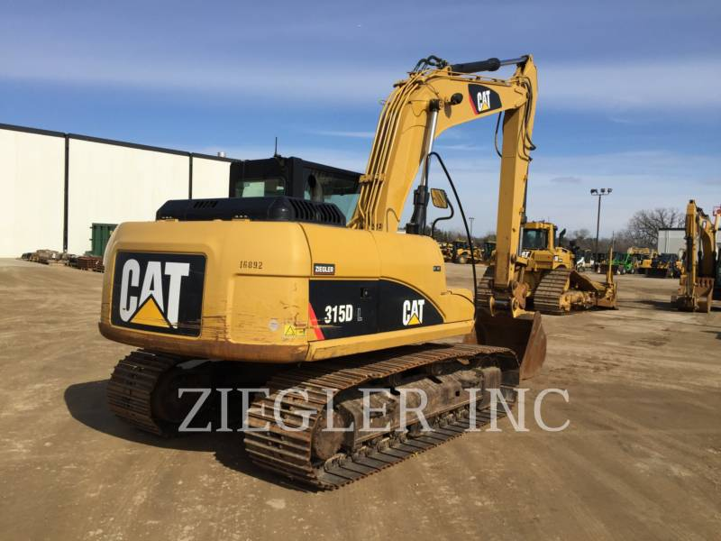 CATERPILLAR ESCAVADEIRAS 315DL equipment  photo 2