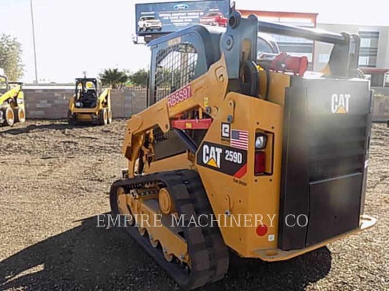 CATERPILLAR ŁADOWARKI ZE STEROWANIEM BURTOWYM 259D equipment  photo 3