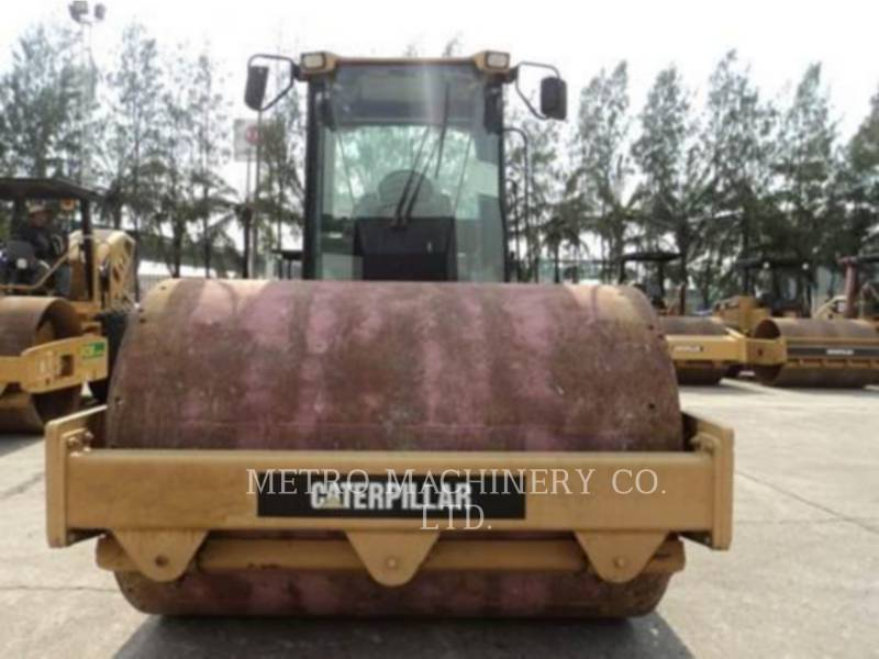 CATERPILLAR TRILLENDE ENKELE TROMMEL GLAD CS-563DAW equipment  photo 7