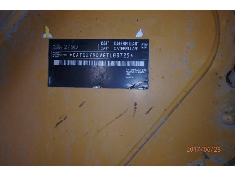 CATERPILLAR MULTI TERRAIN LOADERS 279D equipment  photo 7