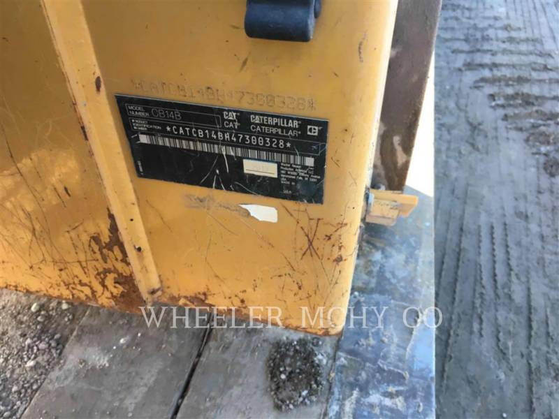 CATERPILLAR TANDEMVIBRATIONSWALZE, ASPHALT CB14B equipment  photo 5
