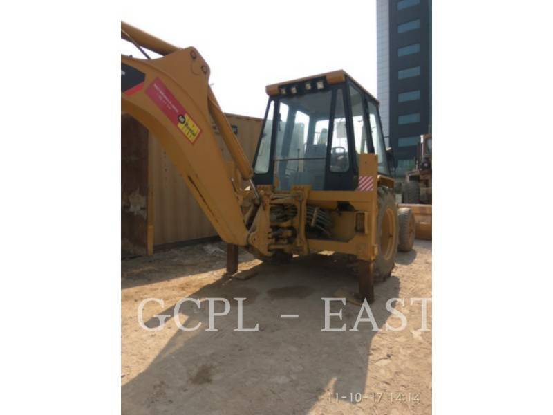 CATERPILLAR BACKHOE LOADERS 424 B equipment  photo 7