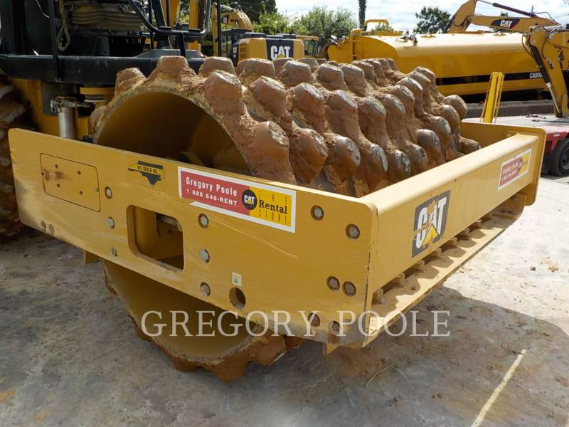 CATERPILLAR VIBRATORY SINGLE DRUM PAD CP54B equipment  photo 5