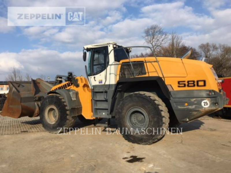 LIEBHERR WHEEL LOADERS/INTEGRATED TOOLCARRIERS L580 equipment  photo 24