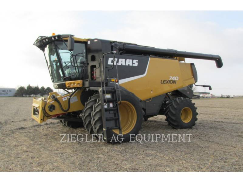 LEXION COMBINE COMBINADOS 740 equipment  photo 10